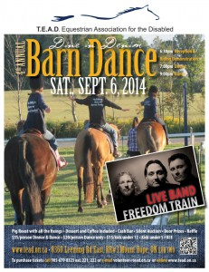 Barn Dance Flyer 2014